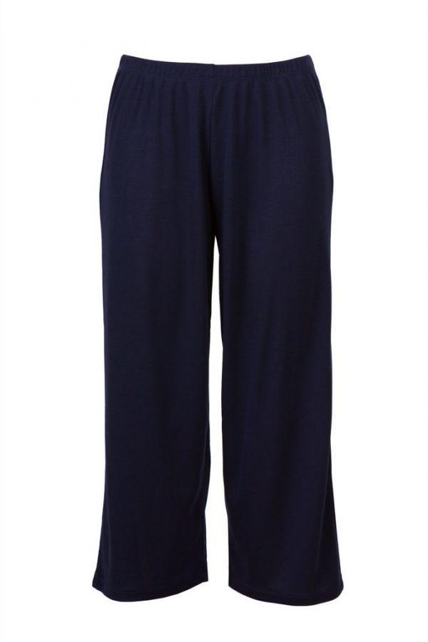 Navy PJ Pants 3/4 Menopause