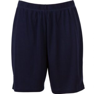 Navy Moisture Wicking Shorts