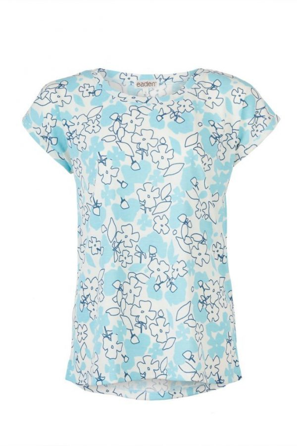 Menopause Floral Moisture Wicking Top