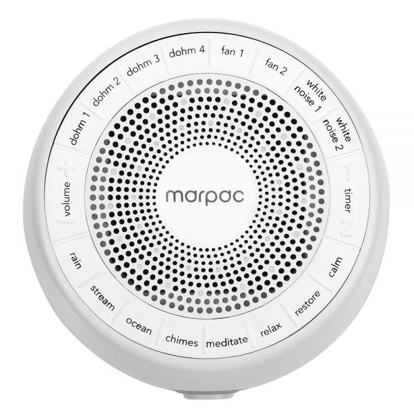 sound options for marpac Whish white noise machine