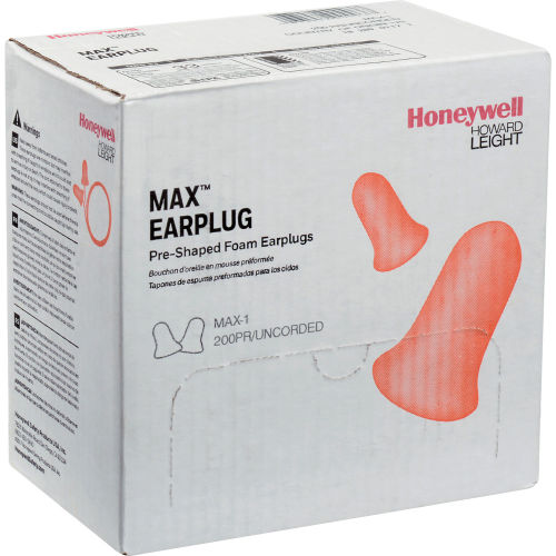 Honeywell max 1 soft foam earplug for noise