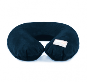 Inflatable Neck Pillow with Cover Navy