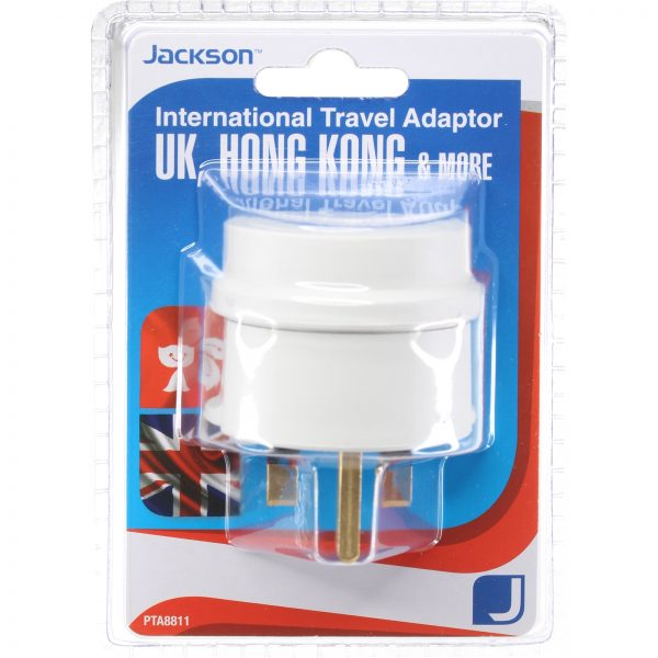 Singapore Outbound Travel Adaptor with 4 USB Fast Charging Outlets 3 Amp outlets Sleep and Sound