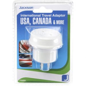 Outbound Travel Adaptor with 4 USB Fast Charging Outlets 3 Amp Canada outlets Sleep and Sound