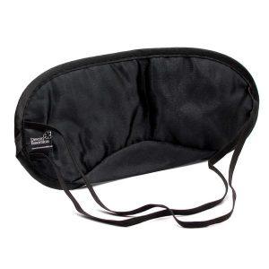 Back of Black Snooz Sleep Mask