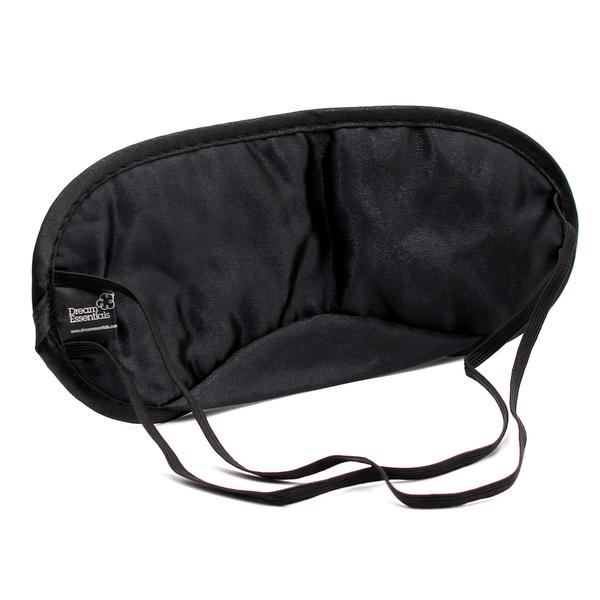 Back of Black Snooz Sleep Mask