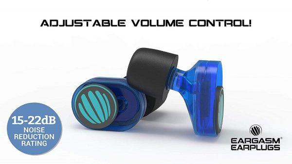 Eargasm Slide Earplugs Volume Sleep and Sound