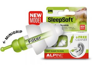 Sleepsoft Reusable Earplugs Sleep and Sound
