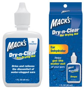 Mack's Dry-n-Clear Ear Drying Aid Sleep and Sound
