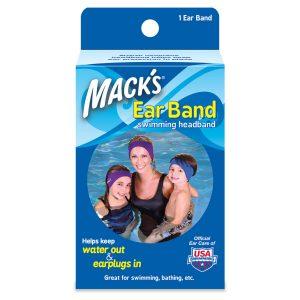Macks Ear Band for Swimming Sleep and Sound