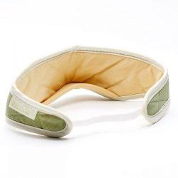 natural bamboo sleep mask olive coloured