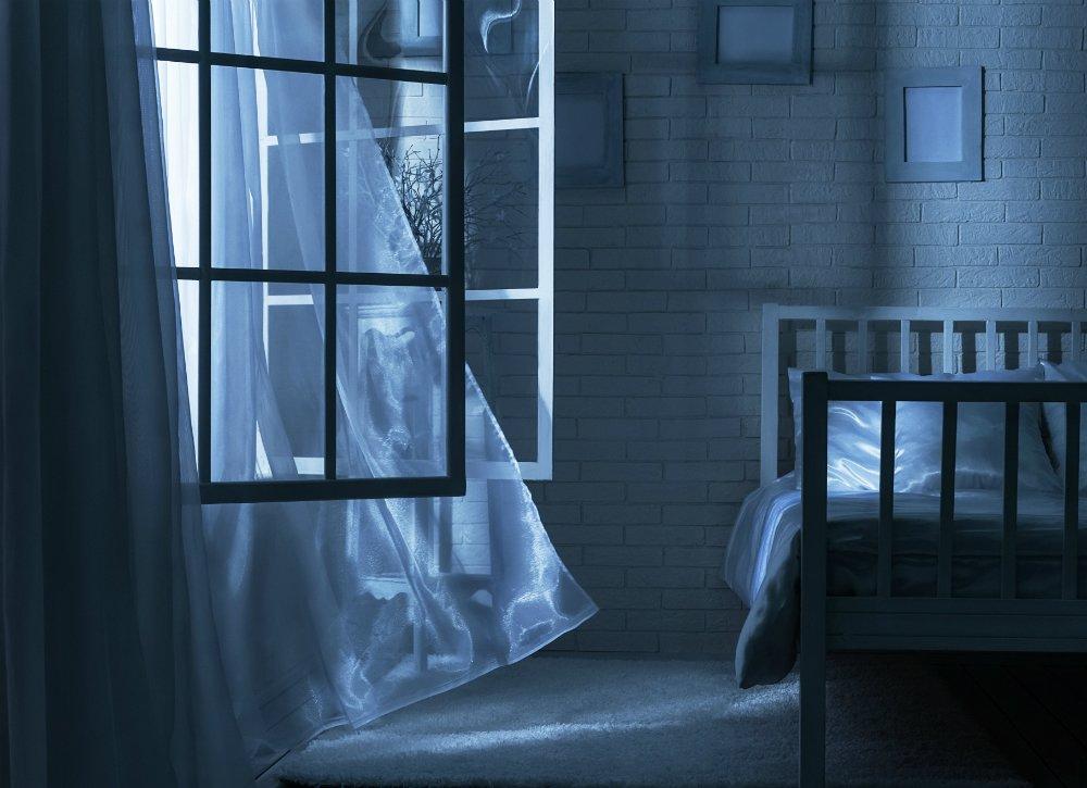 windows open bedroom