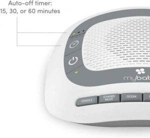 Timer on My Baby Sound Spa Portable White Noise Machine