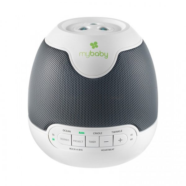 front image of homedics baby sound spa lullaby white noise