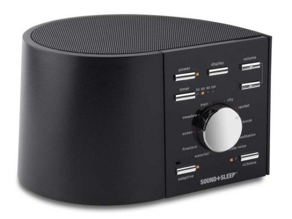 sleep + sound white noise machine for snoring for traffic