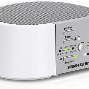 sleep + sound white mini noise machine for snoring