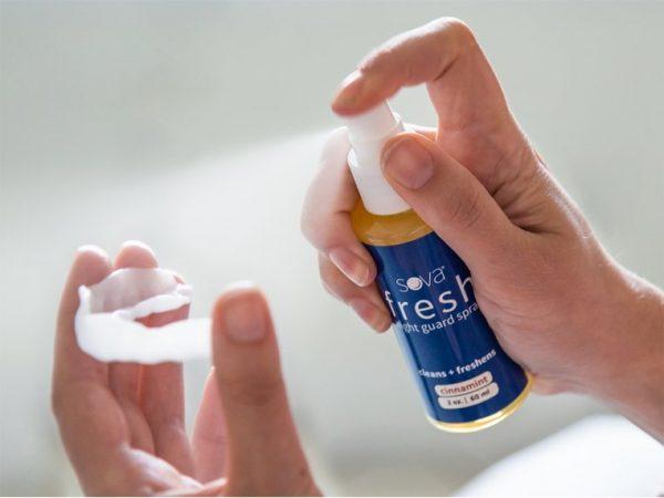 spray for sova night mouth guard