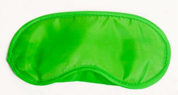 Sound and Sleep Cheap Sleep Mask Lime