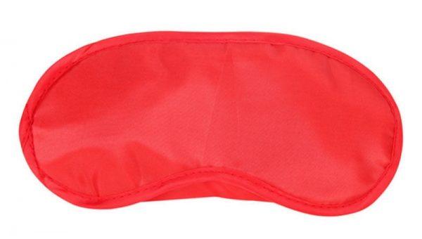 Sound and Sleep Cheap Sleep Mask RED