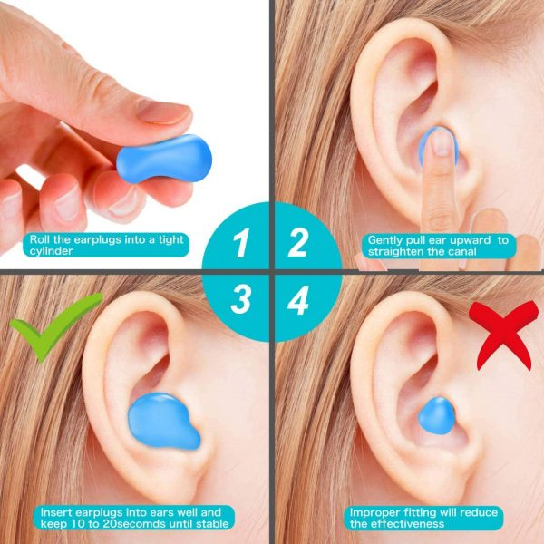 Inserting Ear Putty