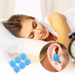 Sleeping with Ear Putty