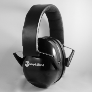 Sleep and Sound Black Earmuffs