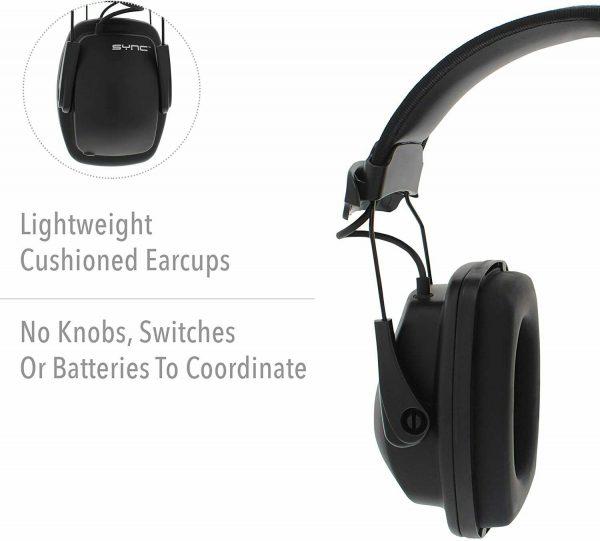 Noise Blocking Earmuffs