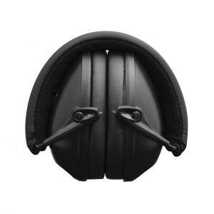 Sleep and Sound Noise Blocking Black Earmuffs