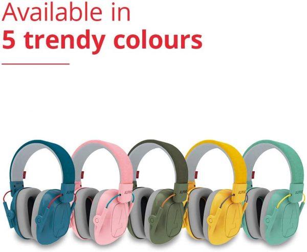 multi coloured earmuffs for kids