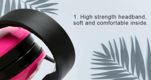 Kids Pink AdjustableEarmuffs