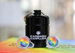 Eargasm Pride Earplugs Container