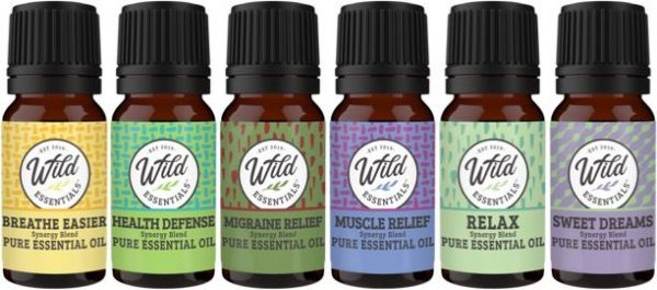 Pure Essential Oils Health Pack