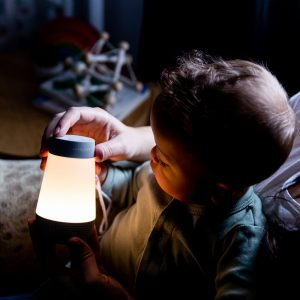 Boy with Soother White Noise Machine