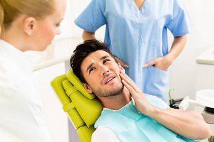 teeth grinding dentist visit