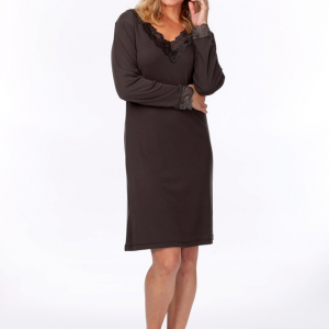 charcoal moisture wicking nightie for menopause