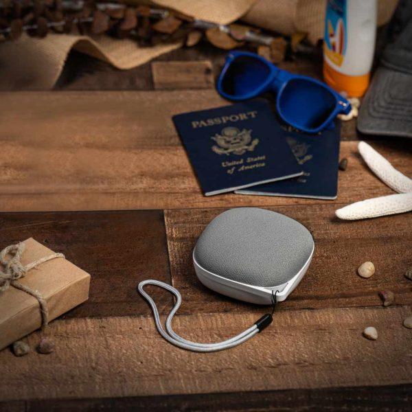 Yogasleep Portable White Noise on Bedside